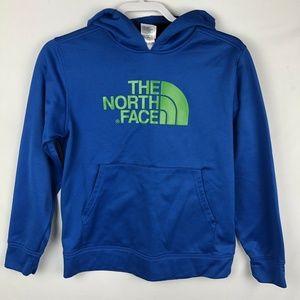 The North Face Boy's Hoodie sweatshirt Large Blue